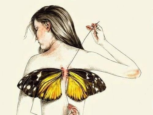 Усі ми народжуємося з крилами, але іноді життя забирає їх у нас