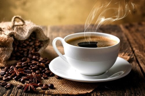 кава у філіжанці