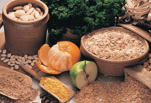 продукти харчуквання з високим вмістом клітковини