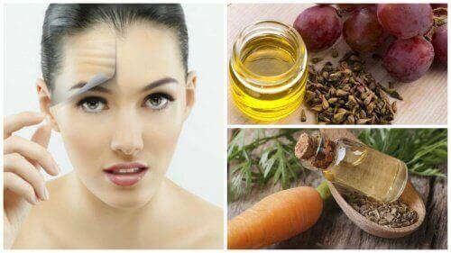 Навчіться очищати шкіру обличчяза допомогою олій