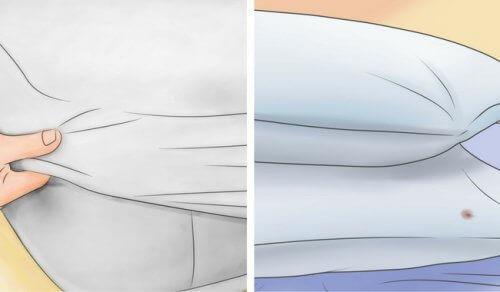 Як відбілити матрац і подушки