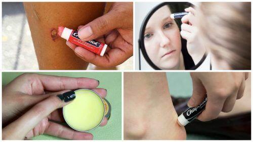 10 чудових альтернативних способів використання бальзаму для губ