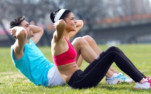 втрата ваги за допомогою вправ