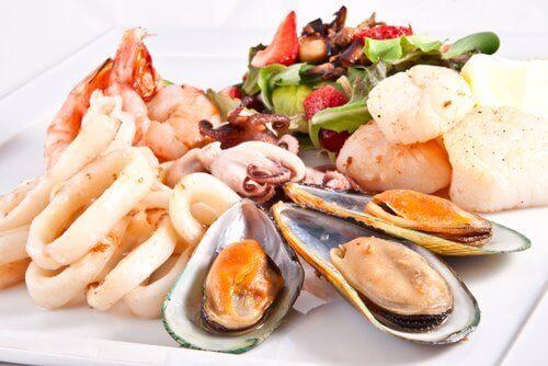 Морські продукти та камені в нирках
