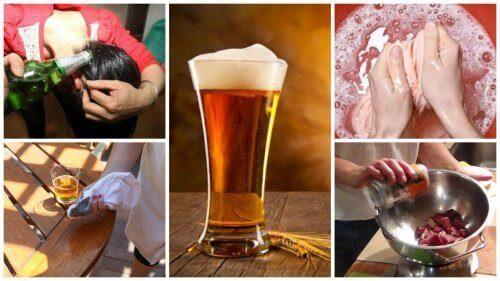9 альтернативних домашніх застосувань пива