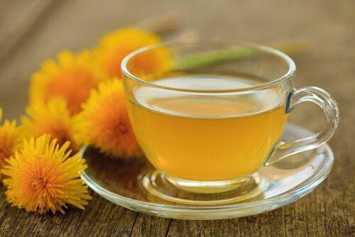 кульбабовий чай