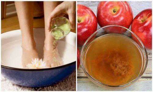 Як позбутися бактерій і відмерлої шкіри на стопах