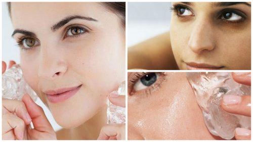 7 переваг застосування льоду для догляду за шкірою