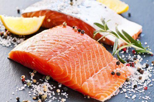 лосось містить CoQ10