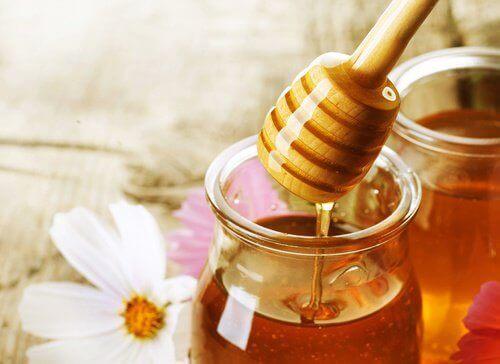 мед в банці