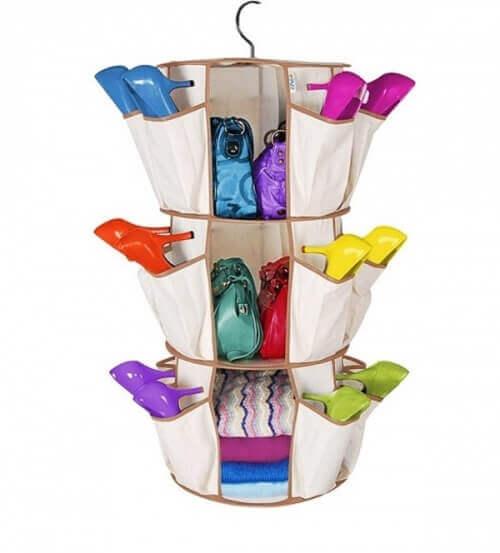 тканинні органайзери для взуття