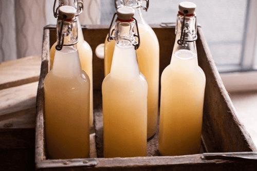імбирне пиво у бутилках