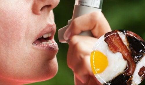 Продукти, які не варто їсти, якщо у вас астма