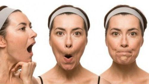 тренування м'язів обличчя