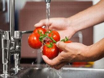 дезінфекція фруктів та овочів