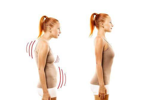 поліпшіть поставу щоб отримати пружні груди