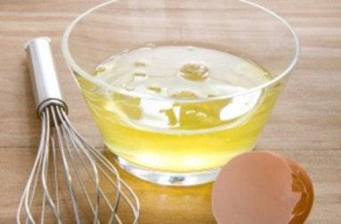 маска для грудей з яєчних білків