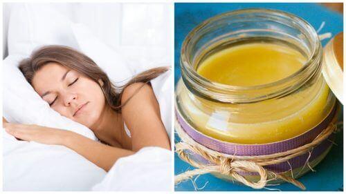 Як власноруч приготувати мазь для покращення сну