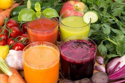 5 напоїв для втрати ваги та зміцнення імунної системи