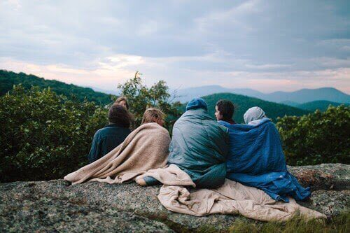 друзі в горах