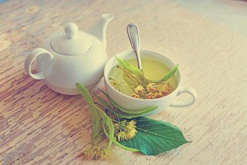 Чай з липи щоб швидше заснути
