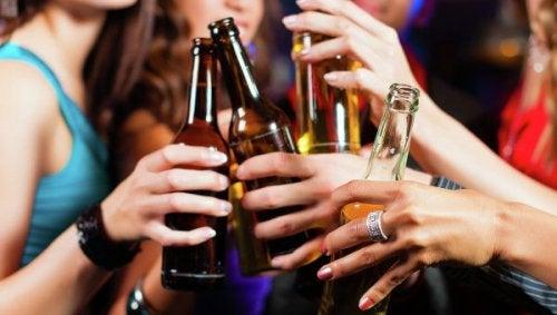 10 миттєвих наслідків алкоголю на здоров'я