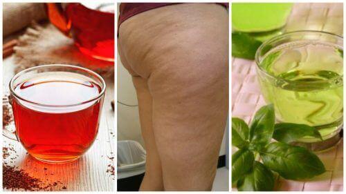 6 трав'яних напоїв проти целюліту