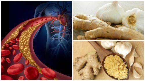 Домашній засіб з імбиром і часником для боротьби з високим кров'яним тиском і рівнем холестерину