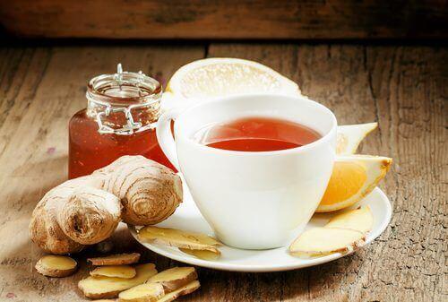 чай з імбиру