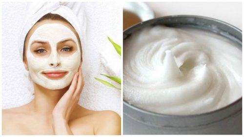 Маска для обличчя з аспірину та йогурту