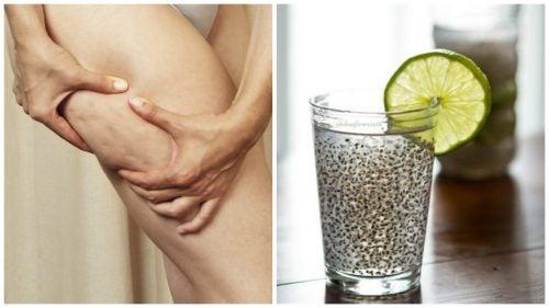 Лікувальний напій із насінням льону для боротьби з целюлітом і покращення стану шкіри