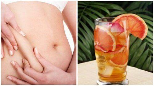 Пришвидшуйте метаболізм, вживаючи зелений чай з грейпфрутом та м'ятою