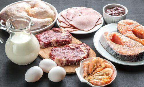 різні види м'яса
