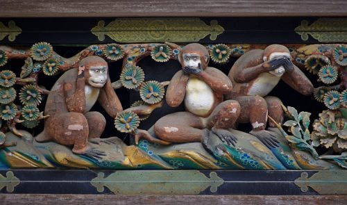 """""""Три мудрі мавпи"""" і їхній урок для нас"""