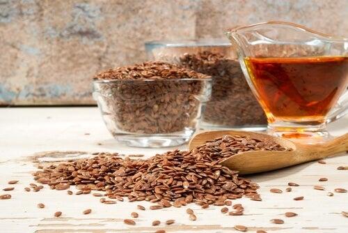 лікувальний напій із насінням льону проти целюліту
