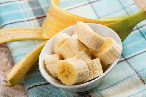 нарізаний банан