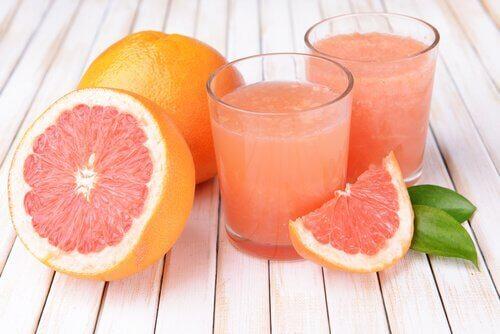 детоксикація печінки грейпфрутом