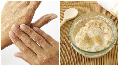 Як приготувати натуральний цукровий скраб для пом'якшення рук
