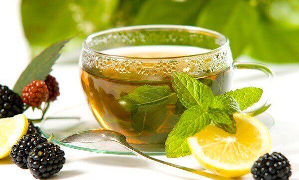 як пити зелений чай з лимоном