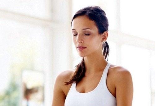 вправи для дихання: послідовне дихання