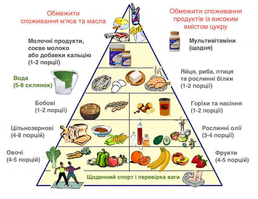 Дізнайтеся, що таке нова харчова піраміда