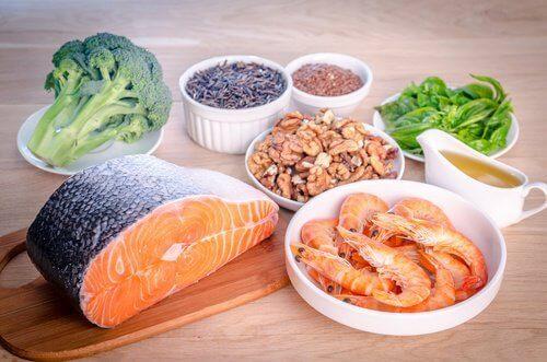 жирні кислоти - продукти