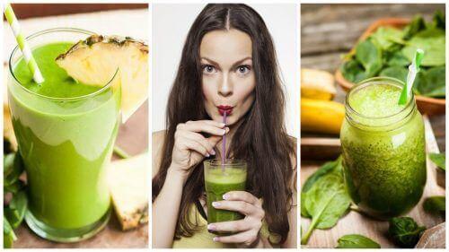 5 зелених смузі для схуднення та детоксикації