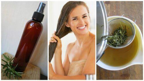 Домашній трав'яний кондиціонер зміцнить ваше волосся