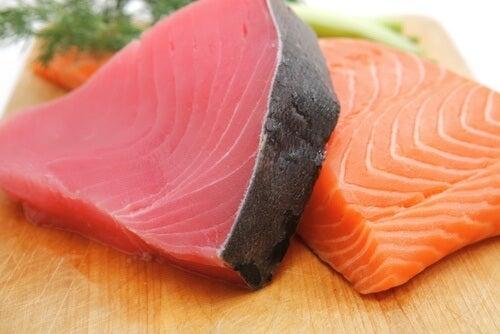 жирна риба для покращення роботи мозку