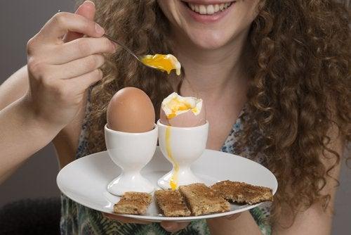 яйця тамують бажання перекусити