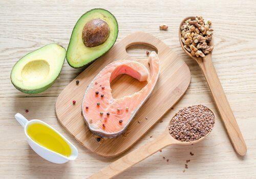 продукти з корисними жирами