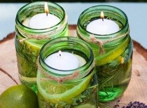 Як виготовити ароматизовані свічки для відлякування комах
