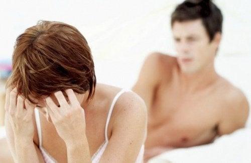 біль під час сексу і міома матки