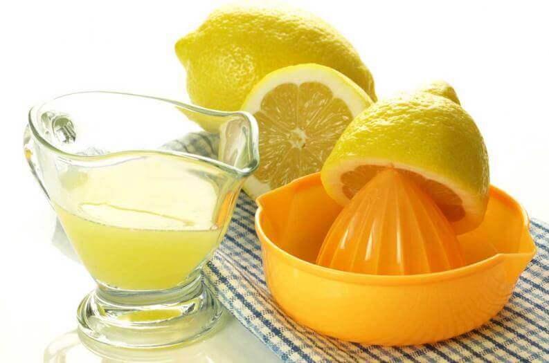 Лимонний сік для прибирання